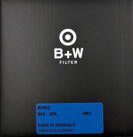 B+W Filtre Polarisant Circulaire Basic MRC 77mm (1100754) (New)