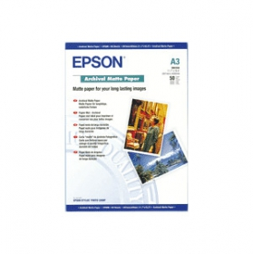 EPSON Papier Photo A3 50 Feuilles Archival Mat (OP FRENCH)