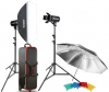 GODOX Kit Complet de Studio avec 2 Flash E250-F