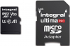 INTEGRAL Carte Micro SDXC Ultima Pro U3 64GB (100MB/s) +Adapt