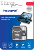 INTEGRAL Carte Micro SDXC UHS-l U1 64GB (100MB/s) + Adapt