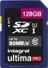 INTEGRAL Carte SDXC Ultima Pro 128GB (80MB/s) (Class 10)