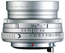 PENTAX 43 mm f/1.9 Limited SMC FA Silver (OP SUMMER)