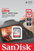SANDISK Carte SDXC Ultra 64GB UHS-1 (80MB/s) (Class 10)