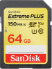 SANDISK Carte SDXC Extreme Plus 64GB V30 UHS-1 (150MB/s) (Class 10)