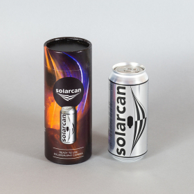 THE SOLARCAN Caméra Sténopé Orange (New)