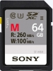 SONY Carte SDXC UHS-II 64GB 260MB/s