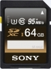SONY Carte SDXC UHS-I 64GB 95MB/s