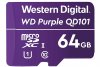 WESTERN DIGITAL Micro SDXC UHS-1 64GB (Class 10) Purple
